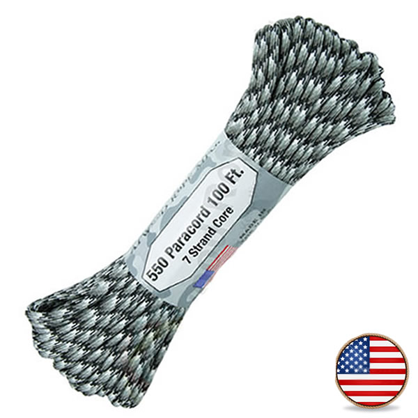 Atwood Paracord 550lb Urban Camo