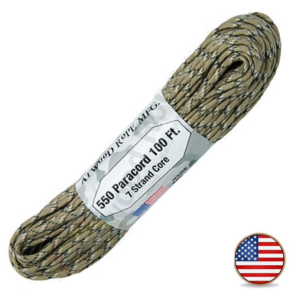 Atwood Paracord 550lb Desert Camo