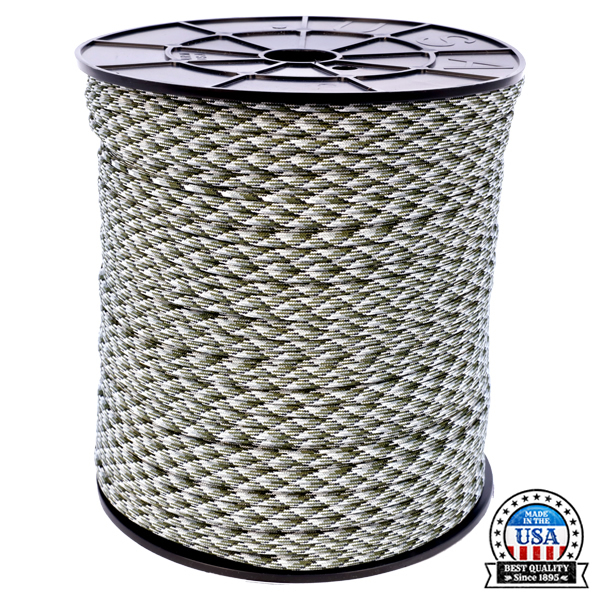 Atwood Paracord 550lb (300m) Siberian Camo