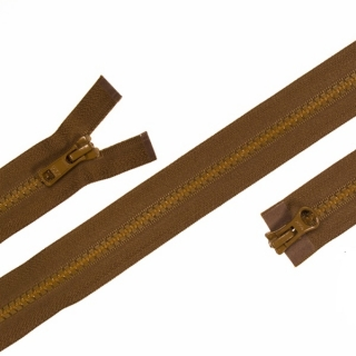 Zip YKK 5VS obousměrný Coyote Brown 80cm