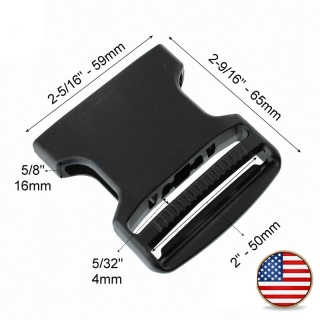 Plastová spona ITW Nexus GTSR Dual 50mm samice Černá b0a069c137