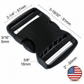 Plastová spona ITW Nexus TSR Dual LL 50mm černá 9ee9f410fe