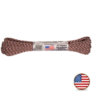 Atwood Paracord 275lb Red Camo
