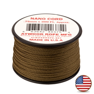 Atwood Nano Cord Coyote Brown