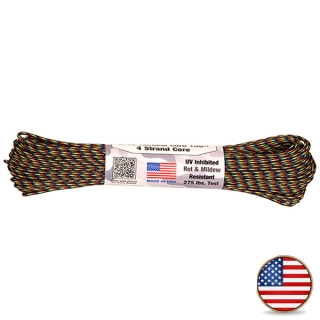 Atwood Paracord 275lb Dark Stripes