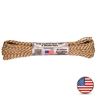 Atwood Paracord 275lb Light Stripes