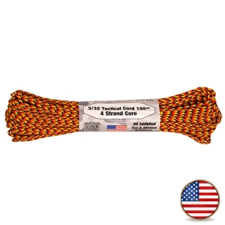 Atwood Paracord 275lb Fireball