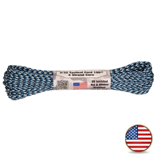 Atwood Paracord 275lb Blue Snake