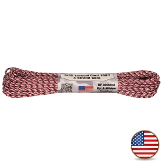 Atwood Paracord 275lb Pink Camo