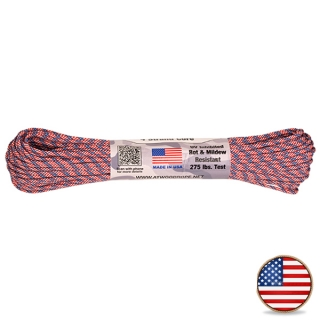 Atwood Paracord 275lb Flag