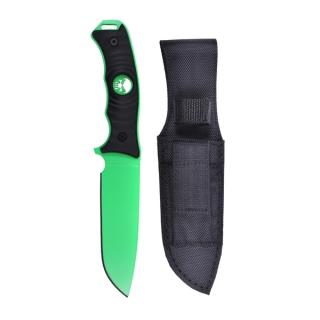 Nůž s pevnou čepelí Rothco Neonově zelený empty a70606db03