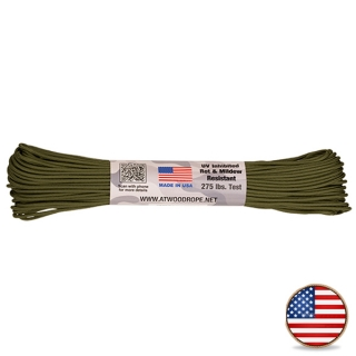 Atwood Paracord 275lb Olive Drab