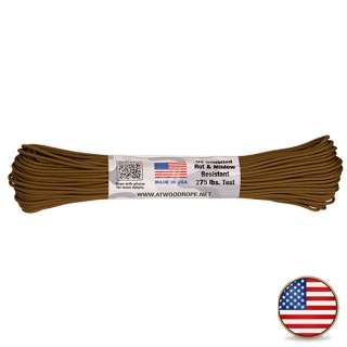 Atwood Paracord 275lb Coyote Brown