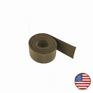 "Popruh Polypropylen Webbing 38mm (1-1/2"") Coyote Brown"