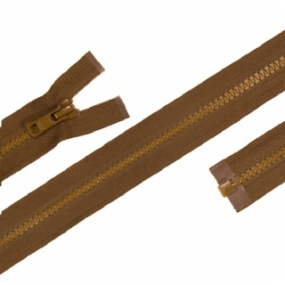 Zip YKK 5VS Coyote Brown 50cm