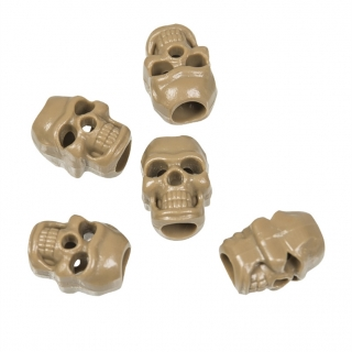 Mil-Tec Cord Stopper SKULL Coyote Brown