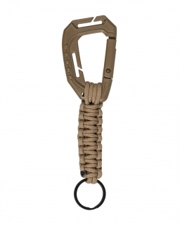 Mil-tec MOLLE Keyholder Paracord Coyote Brown